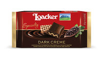 Loacker Chocolate Specialty Dark Creme Chocolate Wafer