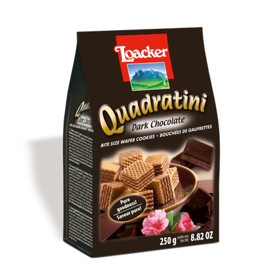 Loacker Quadratini Dark Chocolate Wafer