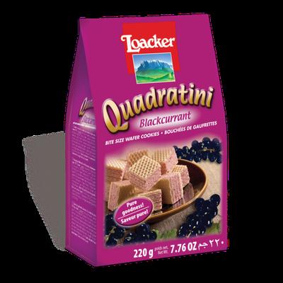 Loacker Quadratini Blackcurrant Wafer