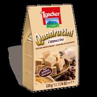 Loacker Quadratini Cappuccino Wafer
