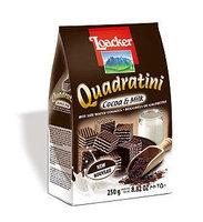 Loacker Quadratini Cocoa & milk Wafer