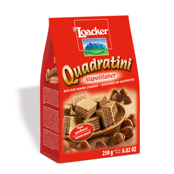 Loacker Quadratini Napolitaner Wafer