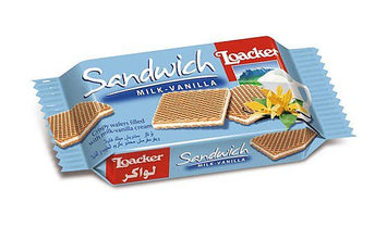 Loacker Sandwich Milk-vanilla Wafer