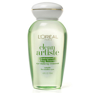 L'Oréal Paris Clean Artiste Clean Artiste Waterproof & Long Wearing Eye Makeup Remover