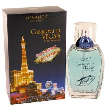 Lovance Casanova In Vegas Men Eau De Toilette Spray