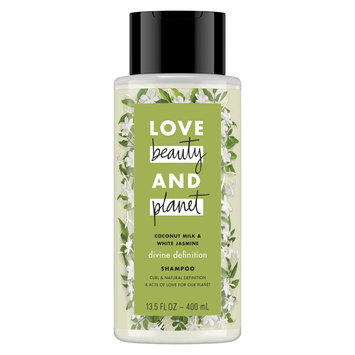 Love Beauty and Planet Coconut Milk & White Jasmine Shampoo