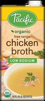 Pacific Organic Low Sodium Free Range Chicken Broth