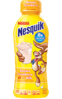 Nesquik® Banana Strawberry Low Fat Milk