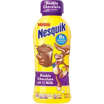 Nesquik® Double Chocolate Low Fat Milk