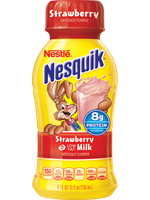 Nesquik® Strawberry Low Fat Milk