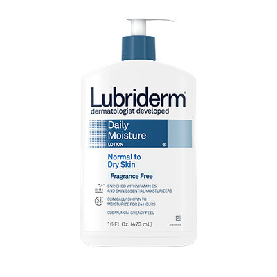 Lubriderm Fragrance Free Normal to Dry Skin Daily Moisture Lotion