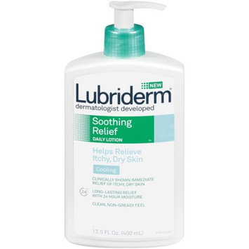 Lubriderm Helps Relieve Itchy and Dry Skin Soothing Relief Daily Lotion