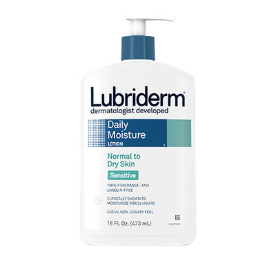 Lubriderm Sensitive Normal to Dry Skin Daily Moisture Lotion