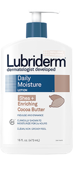 Lubriderm Shea+ Enriching Cocoa Butter Daily Moisture Lotion