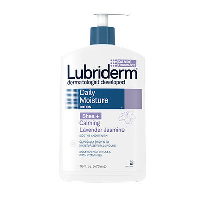 Lubriderm Shea + Calming Lavender Jasmine Daily Moisture Lotion