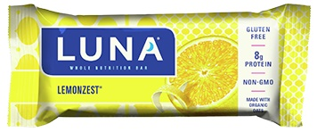 Luna Lemonzest Nutrition Bar