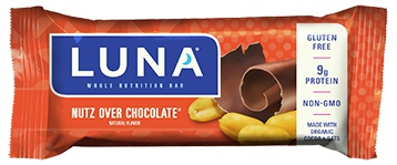 Luna Nutz Over Chocolate Nutrition Bars