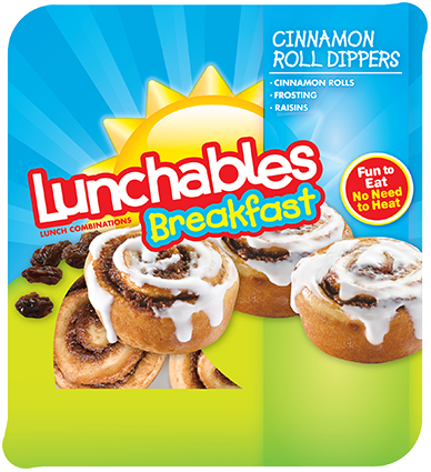 Lunchables Breakfast Cinnamon Roll Dippers
