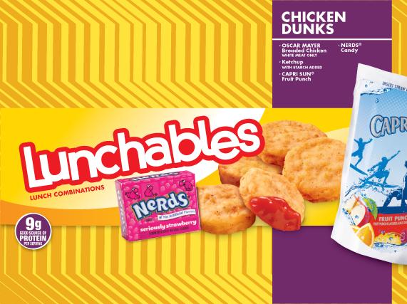 Lunchables Oscar Mayer Chicken Dunks
