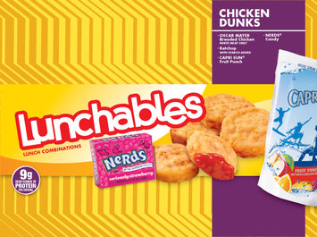 Lunchables Oscar Mayer Chicken Dunks