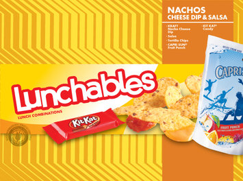 Lunchables Nachos Cheese Dip & Salsa Combo