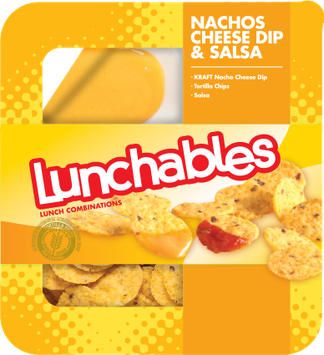 Lunchables Nachos with Cheese  Dip & Salsa