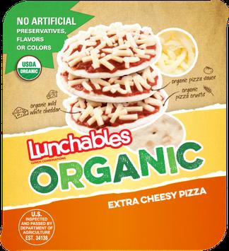 Lunchables Organic Extra Cheesy Pizza