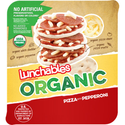 Lunchables Organic Pizza With Pepperoni