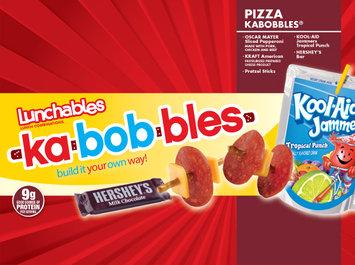 Lunchables Pizza Kabobbles