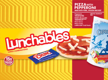 Lunchables Pizza with Pepperoni Made with Pork,Chicken & Beef