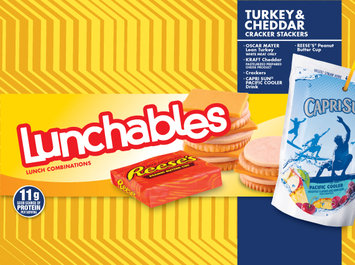 Lunchables Turkey & Cheddar Cracker Stackers