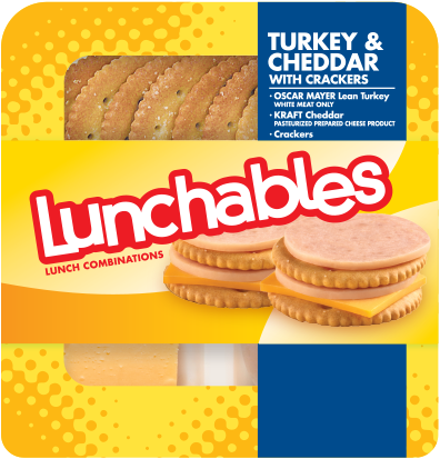 Lunchables Turkey & Cheddar With Crackers