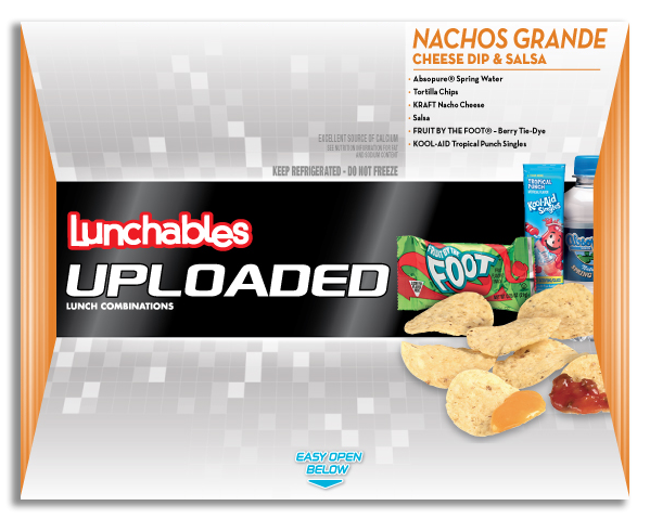 Lunchables Uploaded Nachos Grande Cheese Dip & Salsa