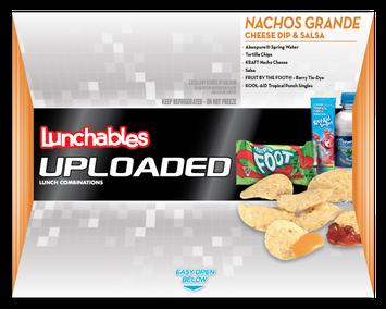 Lunchables Uploaded Nachos Grande Cheese Dip & Salsa