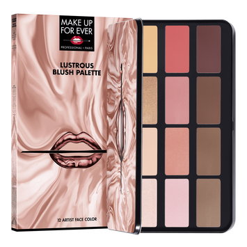 MAKE UP FOR EVER Lustrous Blush Palette Lustrous Collection
