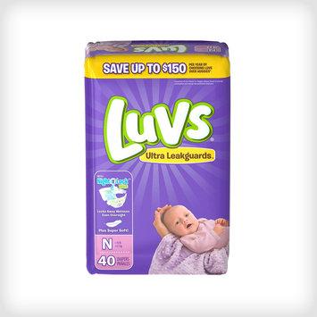 Luvs Ultra Leakguard with Nightlock™️ Plus Newborn Diapers