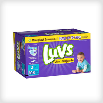 Luvs Ultra Leakguard with Nightlock™ Plus Size 2 Diapers