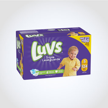 Luvs Ultra Leakguard with Nightlock™ Plus Size 5 Diapers