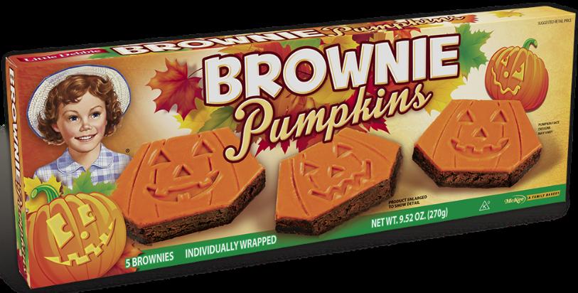 Little Debbie® Brownie Pumpkins