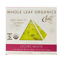 Choice Organic Teas Whole Leaf Organics Lychee White Tea