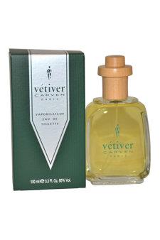Vetiver Carven by Carven for Men - 3.4 oz EDT Spray