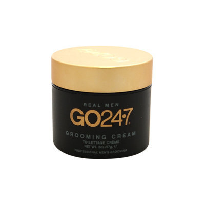 Real Men Grooming Cream by GO247 for Men - 2 oz Cream