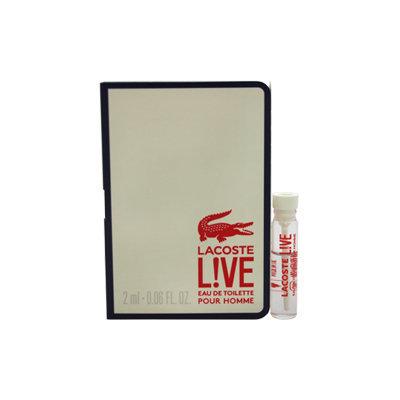 Lacoste Live Men's 2ml Eau de Toilette Mini Splash Vial