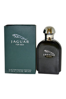 Jaguar by Jaguar for Men - 3.4 oz EDT Spray (Unboxed)