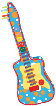 Manhattan Toy Rockin' Sounds Guitar - 1 ct.