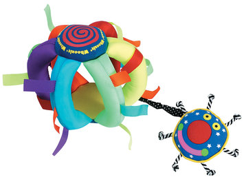 Manhattan Toy Whoozit Wiggle Ball - 1 ct.