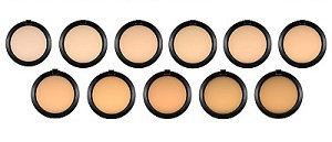 mac studio fix powder plus foundation colours