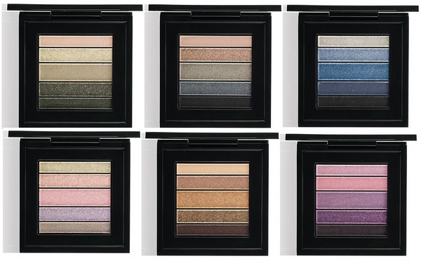 M.A.C Cosmetics Plumluxe Veluxe Pearlfusion Shadow Palette
