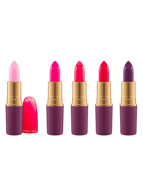 MAC Cosmetics Nutcracker Sweet Lipstick Collection