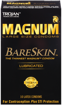TROJAN™ MAGNUM™ BARESKIN™ Lubricated Condoms